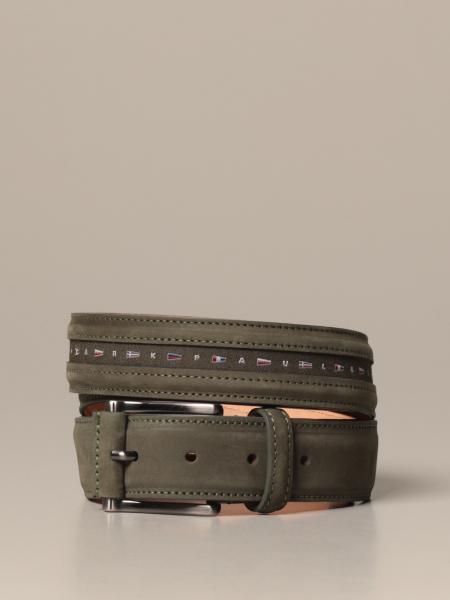 Paul & Shark leather belt