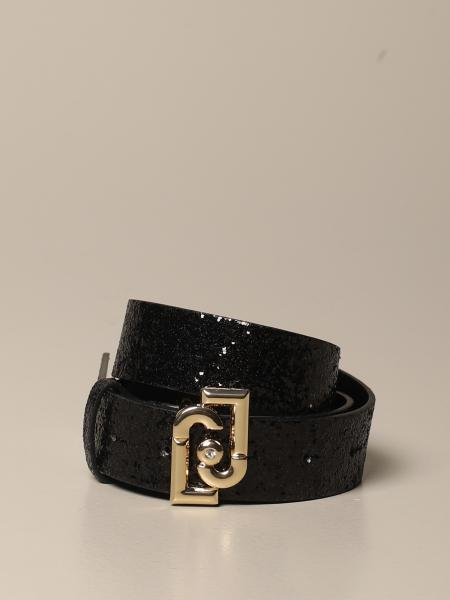 Liu Jo glitter belt with logo