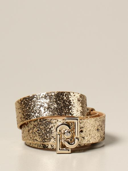 Liu Jo: Liu Jo glitter belt with logo