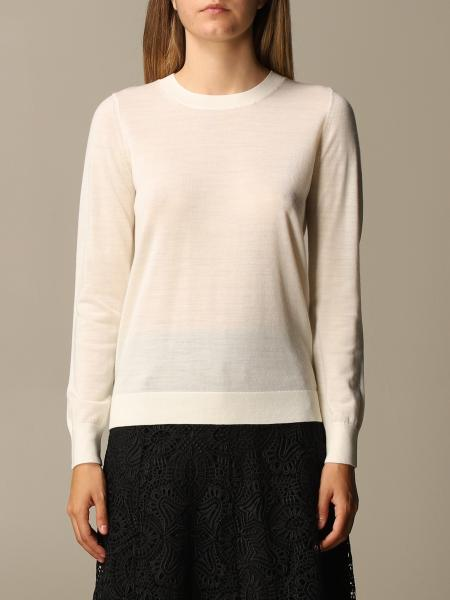Michael Kors women: Michael Michael Kors crew neck sweater with buttons
