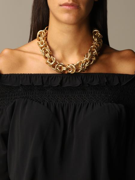 Alberta Ferretti necklace with metal links
