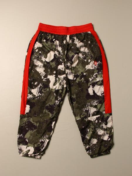Marcelo Burlon camouflage jogging trousers