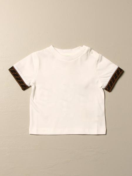 Fendi T-shirt with all over FF bands
