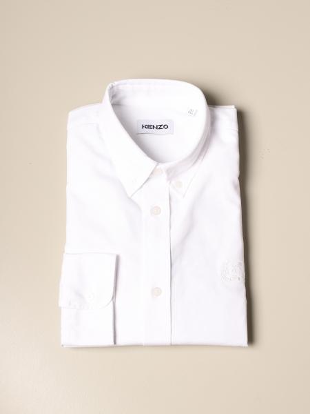 Kenzo: Camicia Tiger Crest Kenzo in cotone