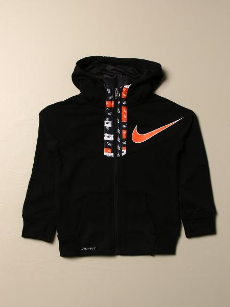 Nike sweatshirt with zip and logo