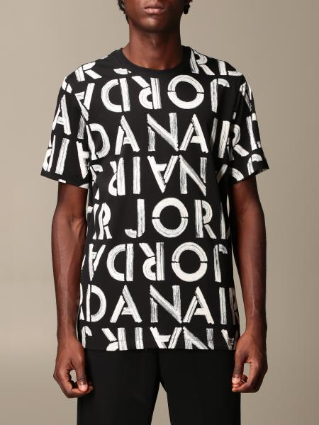 Nike cotton T-shirt with all over logo