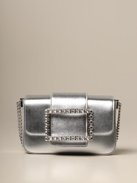 Roger Vivier: Call Me Très Roger Vivier bag in laminated leather