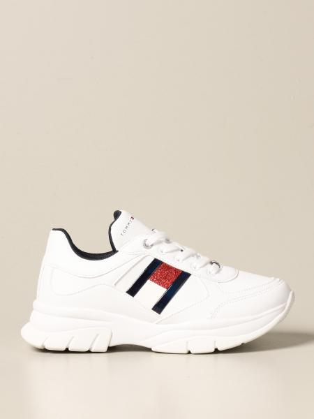 Tommy Hilfiger: Tommy Hilfiger sneakers in synthetic leather