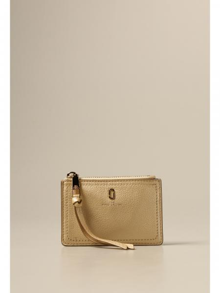Marc Jacobs Softshot wallet in pearly grained leather