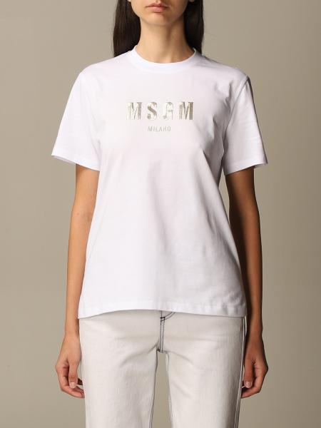 Msgm: T-shirt damen Msgm