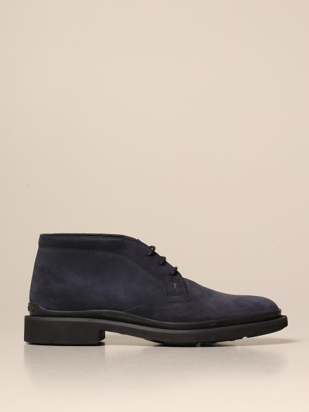 Tod's ankle boot in suede with rubber sole