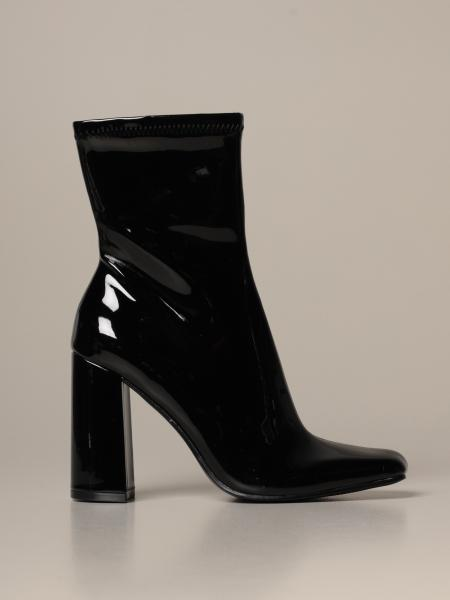 Fulton Steve Madden ankle boots in synthetic patent leather