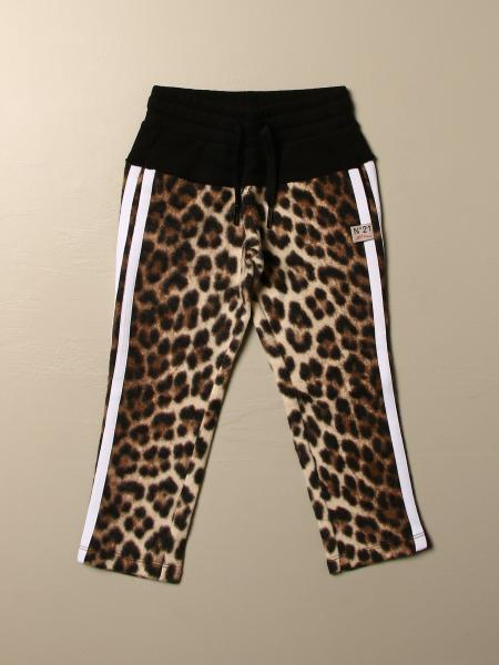 N ° 21 animalier jogging trousers