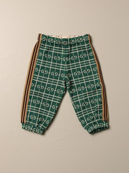 Gucci jogging trousers with all over GG logo