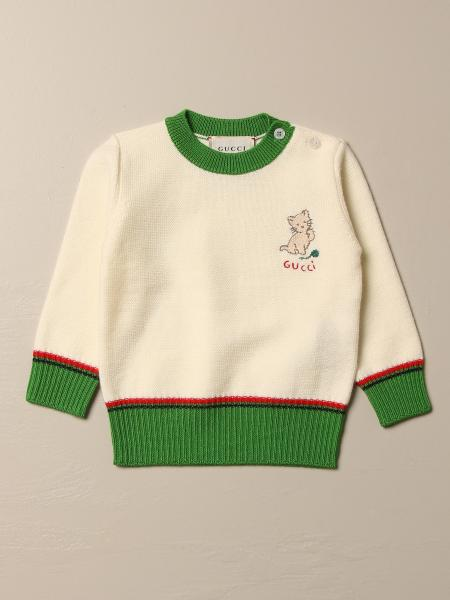 Gucci crewneck sweater with cat