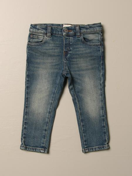 Gucci jeans in cotton denim with logo