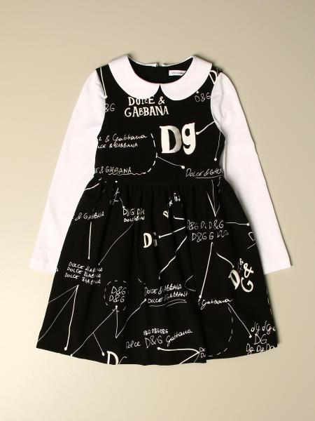 Dolce & Gabbana dress with all over logo