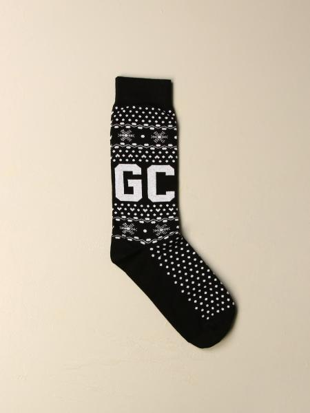 Gcds men: Long GCDS socks with logo