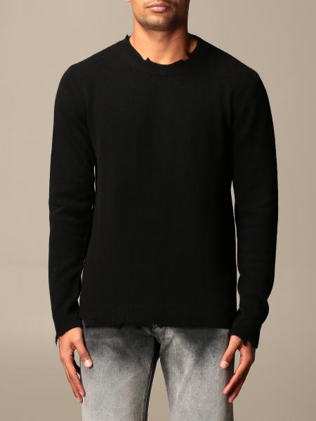 Mauro Grifoni: Mauro Grifoni crewneck sweater with breaks