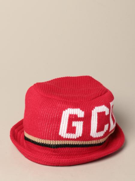 GCDS bucket hat with jacquard logo