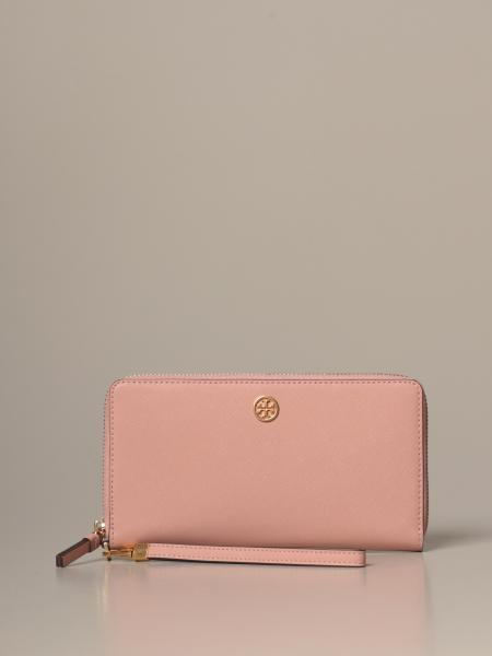 Tory Burch continental wallet in saffiano leather