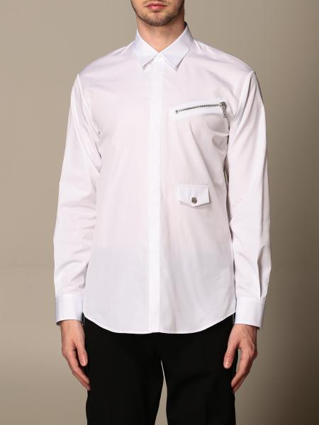 Dsquared2 shirt with Italian collar and zip
