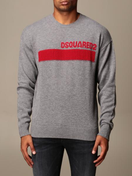 Dsquared2 crewneck sweater with logo