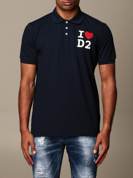Dsquared2 cotton polo shirt with logo