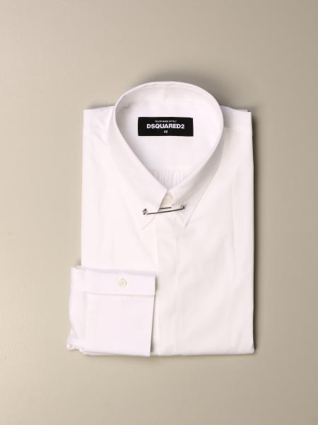 Dsquared2 shirt with safety pins