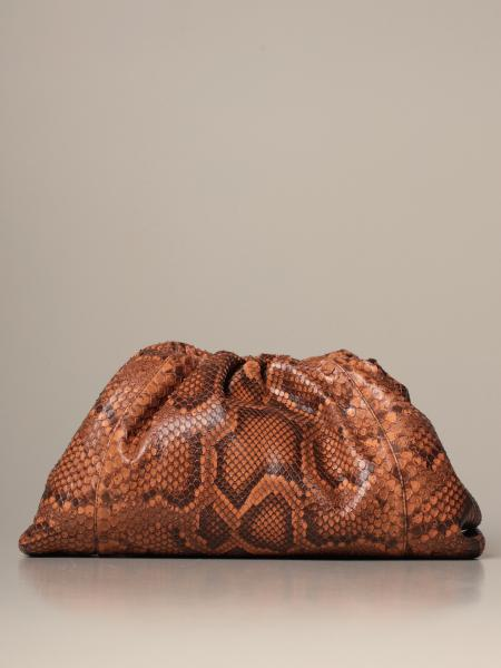 Bottega Veneta The pouch 蟒蛇纹皮革手包