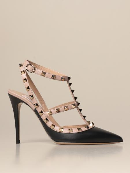 Valentino Garavani Rockstud pumps in leather with studs