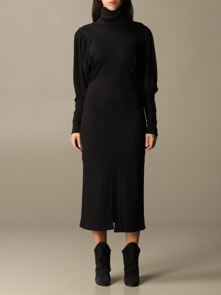 Isabel Marant: Long Isabel Marant dress with high collar