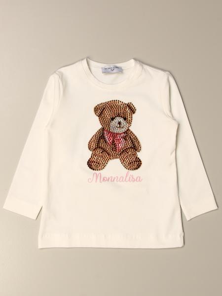 T-shirt bambino Monnalisa