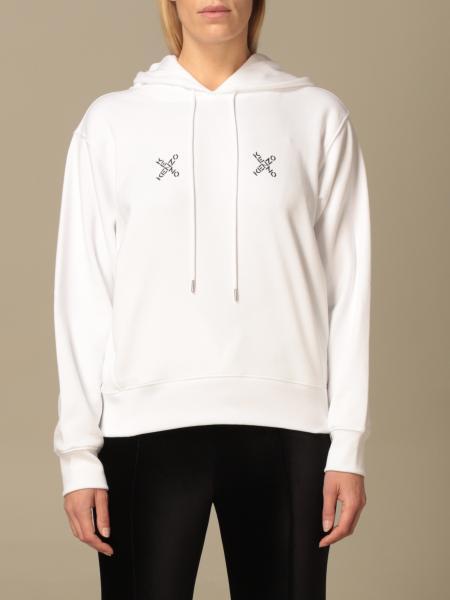 Kenzo: Kenzo hooded sweatshirt and logo