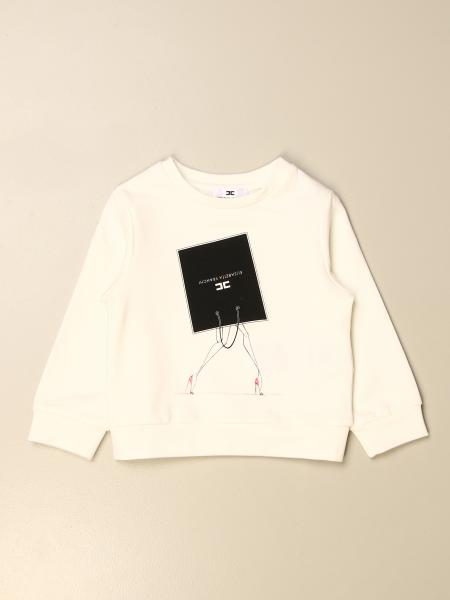Elisabetta Franchi crewneck sweater with logo