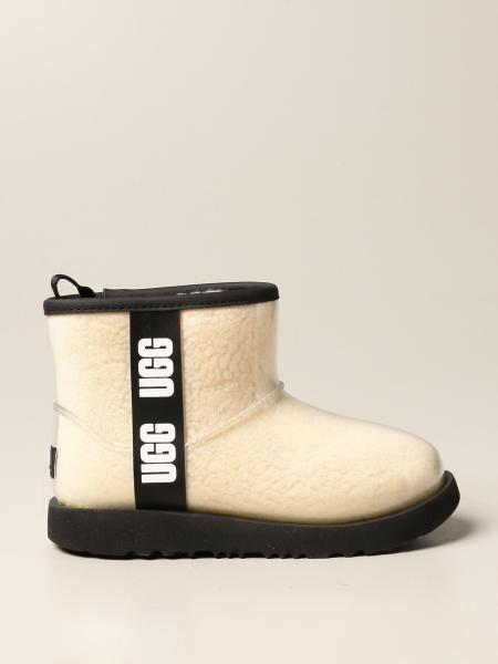 Ugg Australia: Ugg Australia ankle boot with logoed bands