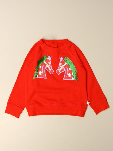 Stella McCartney cotton sweatshirt with all over logo