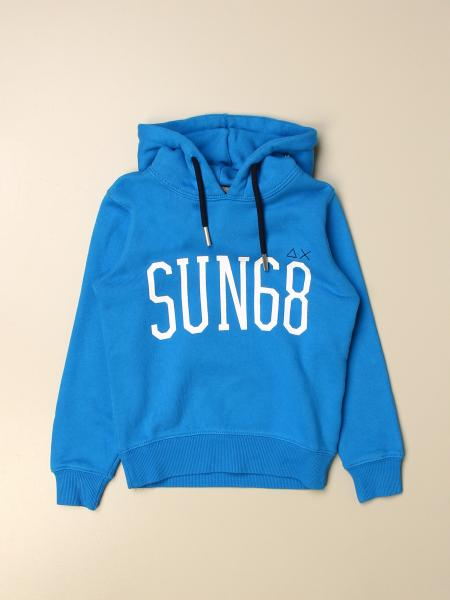 Sun 68: Sun 68 sweatshirt with hood and logo