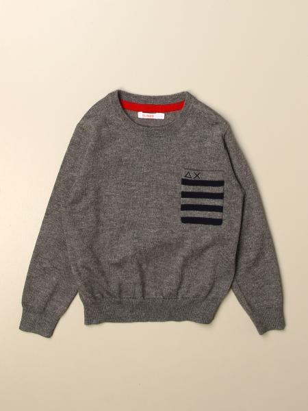 Sun 68: Sun 68 crew neck sweater in cotton