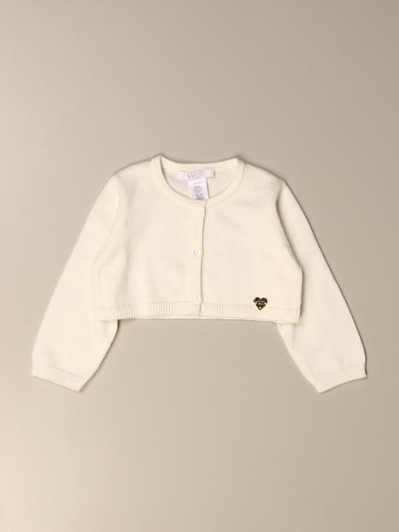 Liu Jo kids: Liu Jo cropped cardigan in cotton blend