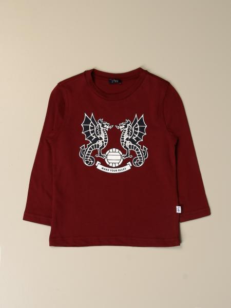 T-shirt Il Gufo con stampa a contrasto