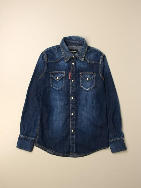 Dsquared2 Junior denim shirt
