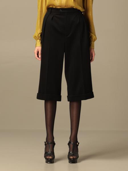 Saint Laurent: Trousers women Saint Laurent