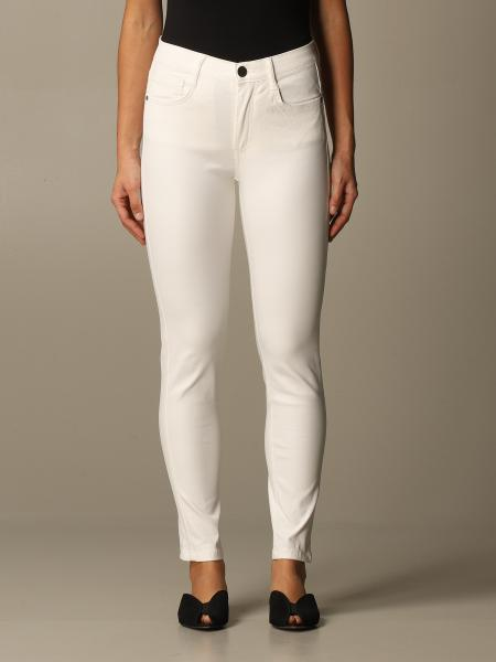 Federica Tosi trousers in coated fabric