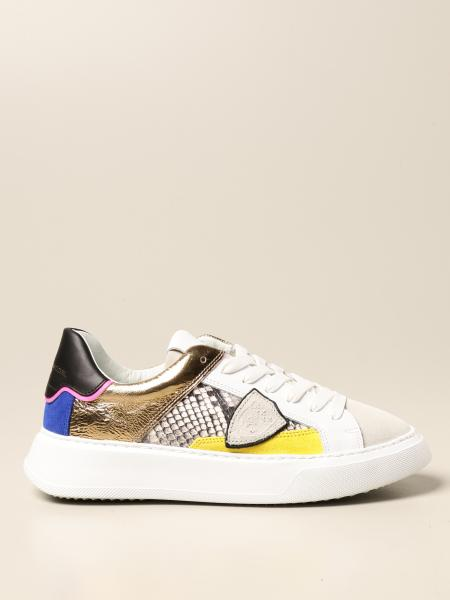 Sneakers Temple Philippe Model in multi materiale