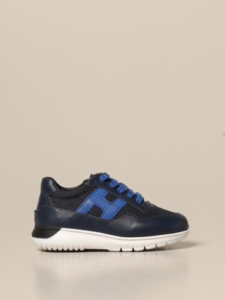 Cube Hogan Baby sneakers in leather and mesh
