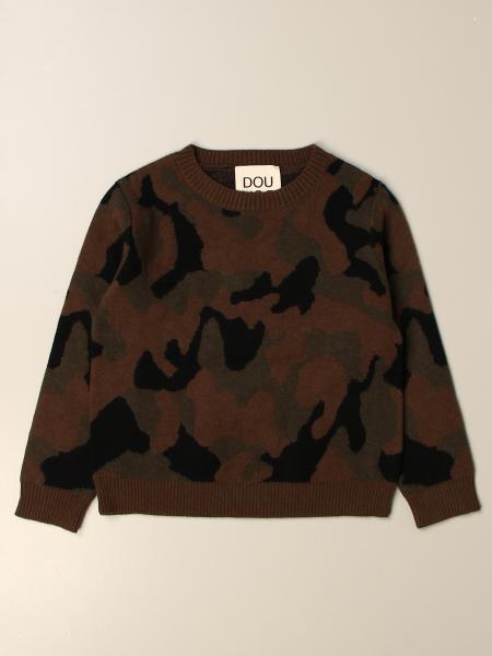 Douuod camouflage crewneck sweater