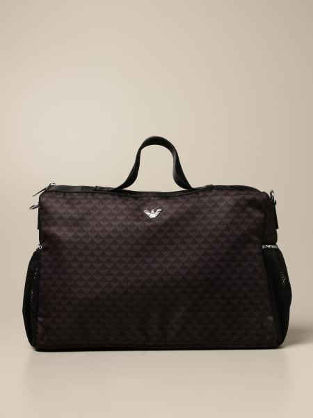 Diaper bag Mama's bag Emporio Armani in nylon con logo