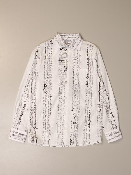 Dolce & Gabbana shirt with logoed bands
