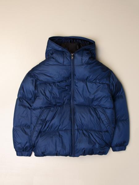 Emporio Armani down jacket with hood